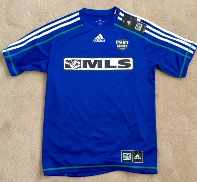 Port Washington Soccer MLS Dryfit Blue Shirt